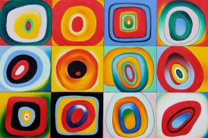 Etude de couleurs-kandinsky