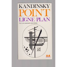 Kandinsky-point ligne plan