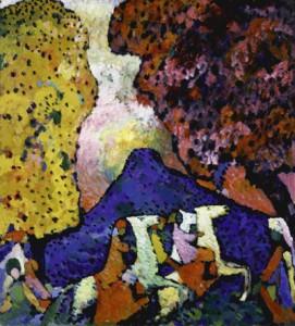 La montagne bleue - Kandinsky