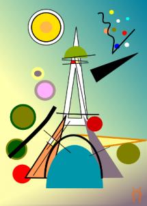 Paris façon Kandinsky