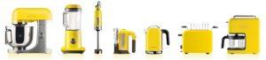 petit électroménager jaune