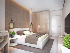 Déco chambre marron