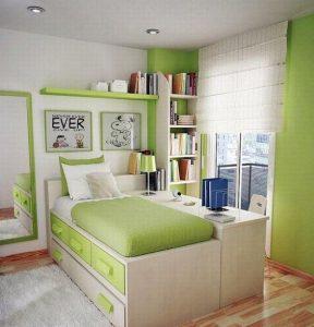 deco mur vert chambre enfant