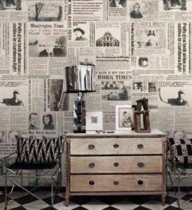Detourner-recycler-les-objets-journal-papier-peint-2