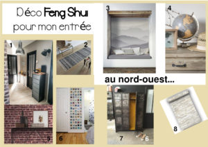 Planche-tendance-deco-feng-shui-entree-nord-ouest