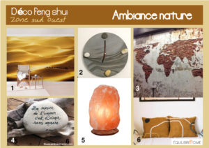 Planche-tendance-nature-decoration-zone-sud-ouest-feng-shui